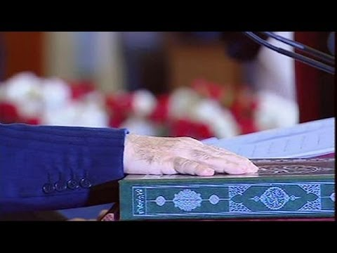 Abdelaziz Bouteflika sworn in for fourth term as Algerian president - no comment