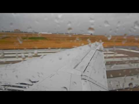 Stormy Takeoff from Nashville International Airport (BNA)