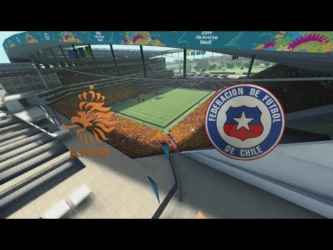 2014 FIFA World Cup Brazil - Netherlands vs Chile - [HD FULL Gameplay]