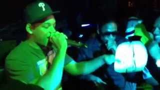 Will Smith Freestyles While Doug E Fresh Beat Boxes (2012