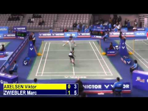 R32 - MS - Marc Zwiebler vs Viktor Axelsen - 2014 Korea Badminton Open