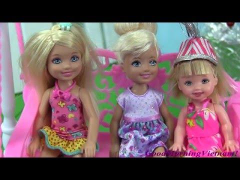 Cuộc Sống Barbie & Ken (Tập 16) Chuyến Thăm Barbie Bất Ngờ Của Terasa - Barbie's Life Movie