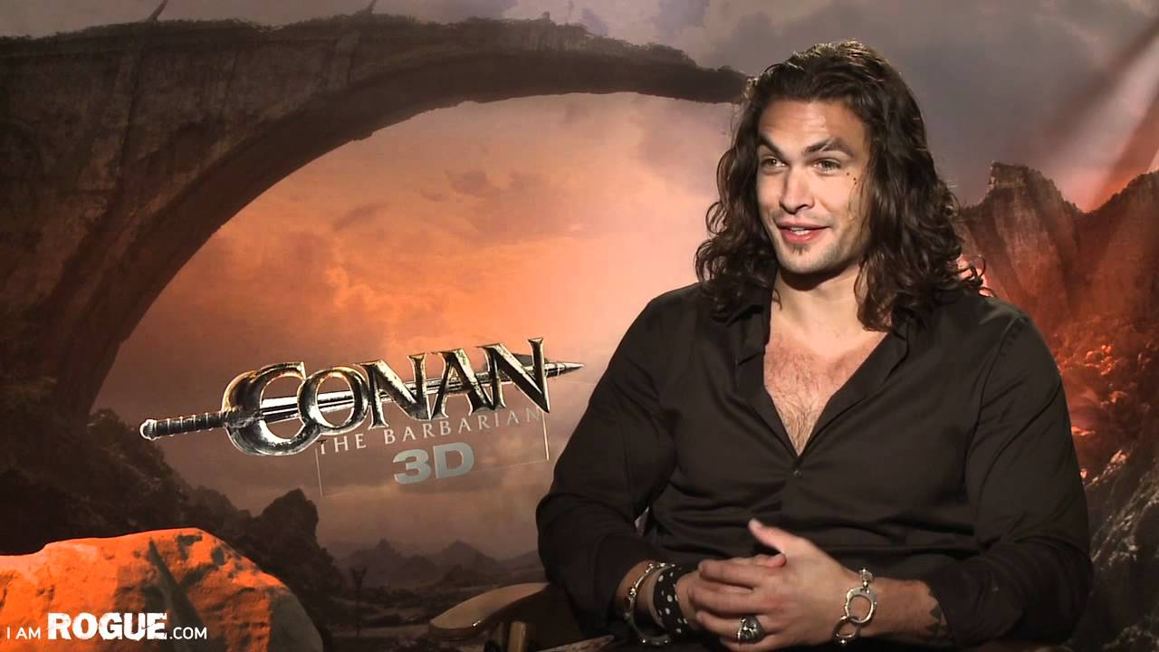 exclusive video conan the barbarian cast interviews