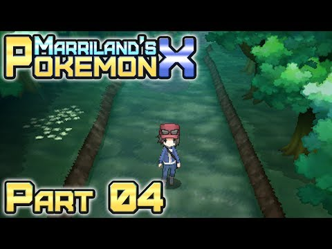 Pokémon X, Part 04: Santalune Forest!