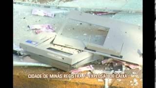 Cidade de Paragua�u registra primeira explos�o a caixa eletr�nico
