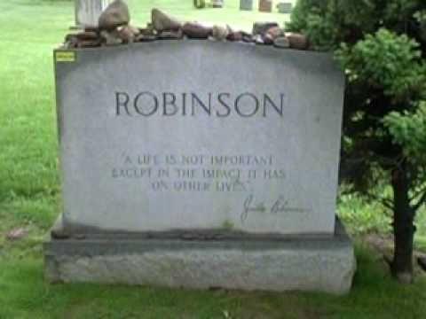 JACKIE ROBINSON GRAVES...