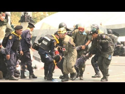 Bangkok erupts in fatal clashes between police, protesters