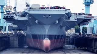 Biển Đông quá NÓNG, Mỹ gấp rút triển khai siêu tàu 13 tỷ Đô CVN 78 - Tin Tức Mới Radio VN