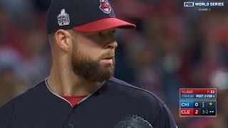10/25/16: Kluber, Perez lead Indians to Game 1 win