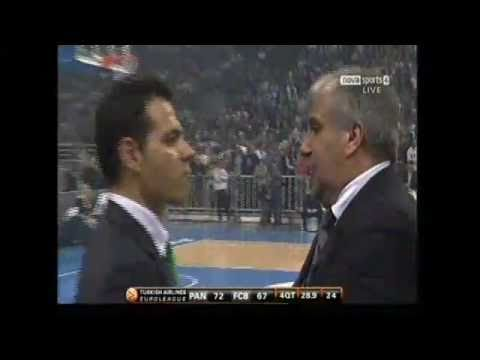 Panathinaikos vs Barcelona 78-67 Euroleague Basketball 2011