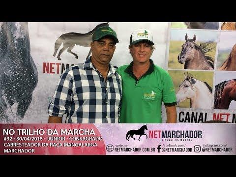 #32 - NO TRILHO DA MARCHA - 30/04/2018 - JÚNIOR - CONSAGRADO CABRESTEADOR DA RAÇA