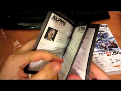 Слоупочный unbox коллекционного издания Alpha Protocol от Gerki