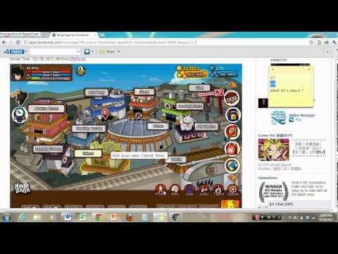 Cheat Engine 6.2 ninja saga level up