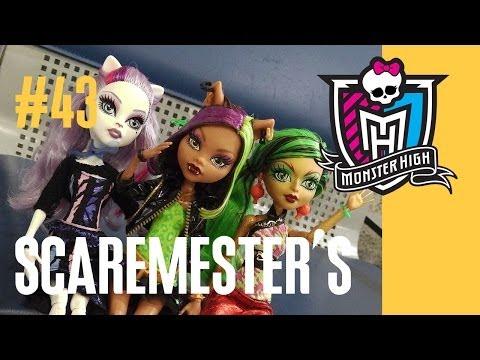 Куклы Монстер Хай обзор (Monster High) Школа