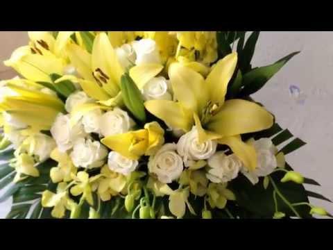 Giỏ hoa để bàn, Hướng dẫn cắm hoa tươi