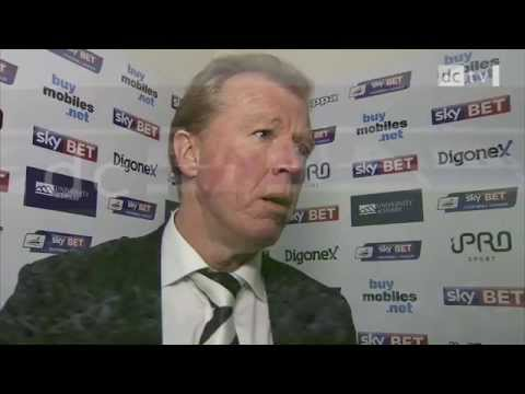 DERBY COUNTY Vs CHARLTON ATHLETIC | Steve McClaren Post-Match