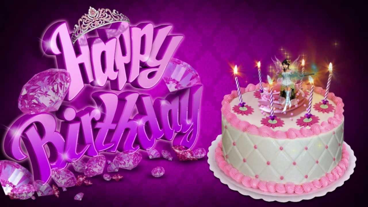 Fairy Princess Cake Happy Birthday Youtube