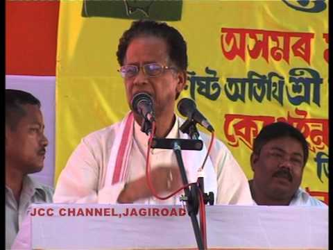 Tarun Gogoi is the Chief Minister of Assam @ Capt  Robin Bordoloi 2009