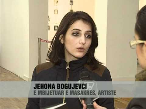 Masakra e Podujevës kthehet ne art - Vizion Plus - News- Lajme