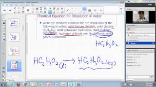 General Chemistry Lecture: Aqueous Reactions Part 1