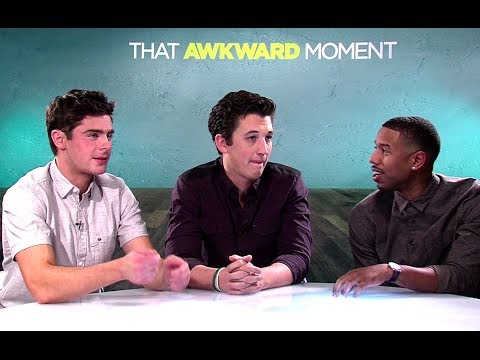 Zac Efron, Miles Teller, Michael B. Jordan & Interview - That Awkward Moment (HD) JoBlo
