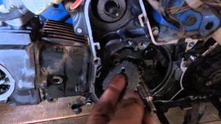 Cambiar cadena de distribución en motos 110 cc y 70 cc parte 2