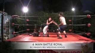 6 Man Battle Royal