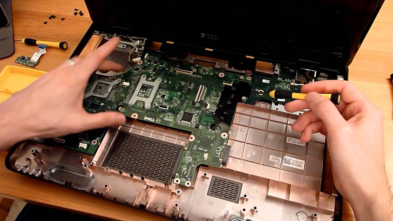 How To Upgrade And Dismantle A Dell 17r N7110 Youtube