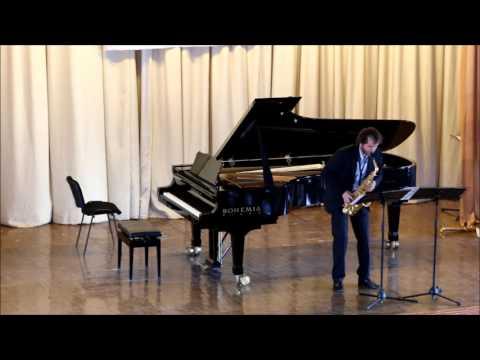 GOLDEN SAXOPHONE 2015. Bart Van Beneden. Berio Sequenza IX