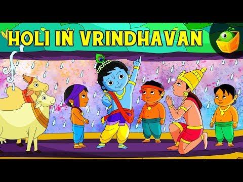 Krishna and Govardhan - Animated Cartoon Stories of Lord Krishna