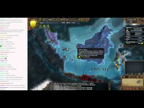 Livestream Europa Universalis IV Brunei to Malaysia 02 (Let's Play/Deutsch)