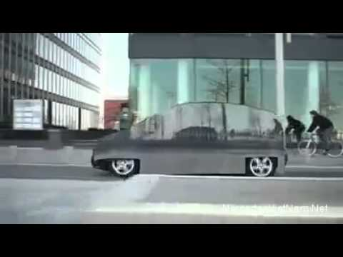 Video Cận cảnh chiếc xe tàng hình của Mercedes Benz