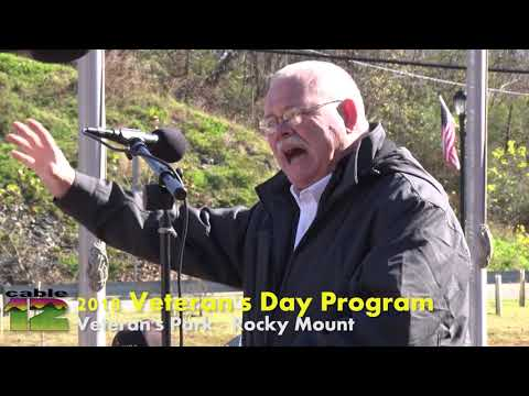 2018 Veteran's Day Program - Vet's Park, Rocky Mount