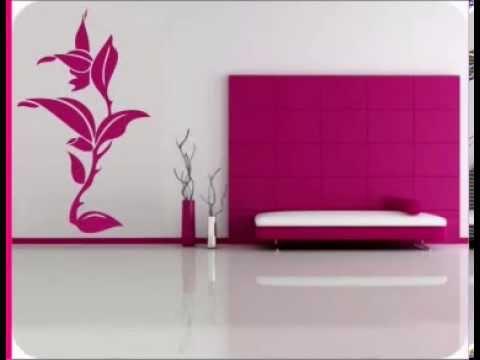 Decoracion de interiores con vinilos decorativos florales for Decoracion con vinilos