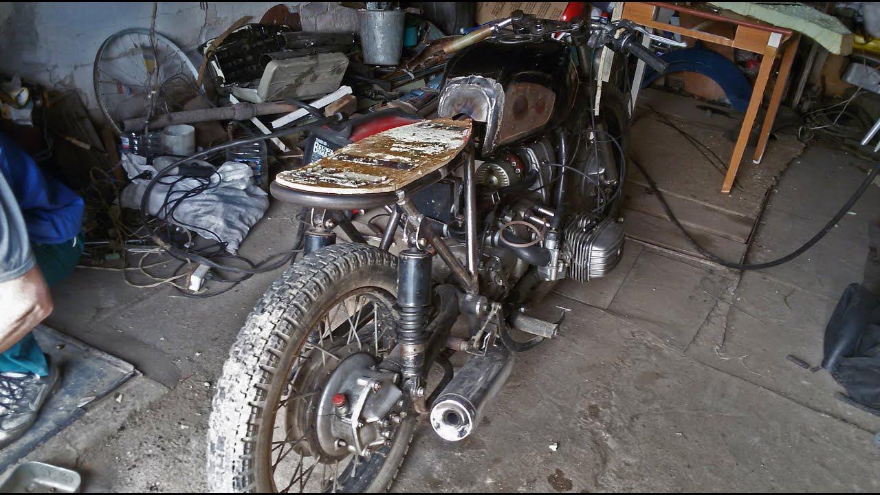 Мотоцикл своими руками из зазеркалья