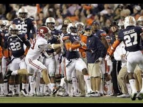 Miracle Men: Chris Davis' Return Lifts Auburn Over Alabama And Into College Football Lore