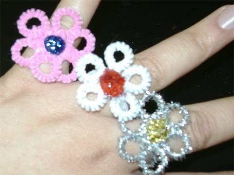 how to make rings at home with paper