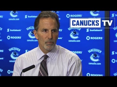 John Tortorella post-game vs Blues (Feb 26, 2014)