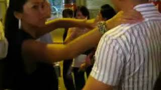 *MUST SEE* 1of3 Lan Kwai Fong Fight,angry Girl Falls In