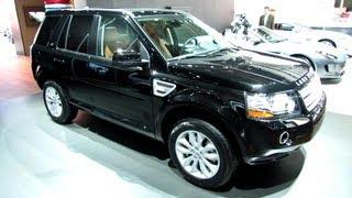 2013 Land Rover LR2 HSE - Exterior and Interior Walkaround - 2013 Detroit Auto Show videos