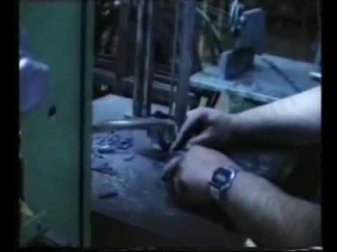 Fabricación artesanal de troqueles de acero