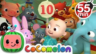 Ten in the Bed | +More Nursery Rhymes & Kids Songs - Cocomelon (ABCkidTV)