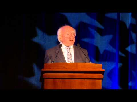 Speech by President Michael D. Higgins at American Chamber of Commerce 2014 Independence Day Lunch