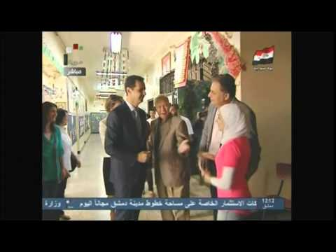 2143WD SYRIA-ELECTION ASSAD VOTING