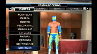 Wwe Smackdown Vs Raw 2011 How To Create To Sin Cara(Mi