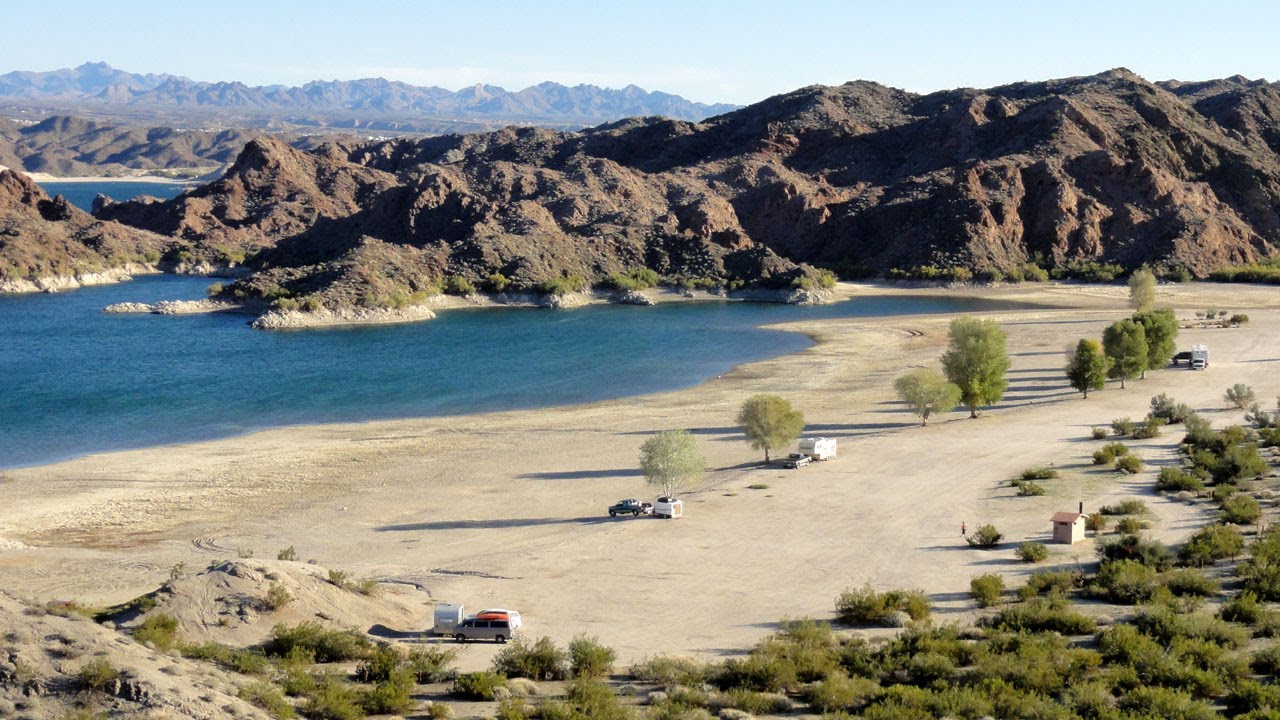 Lake mohave telephone cove nevada rv camping picture tour for Laughlin camping cabins