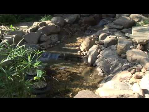 Smartpond 39 s how to build a pond or water feature youtube for Making a pond with liner