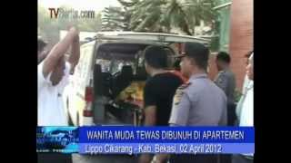 Wanita Cantik Dibunuh Di Apartemen Lippo cikarang, 23 Tusukan view on youtube.com tube online.