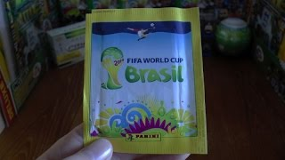 PACK OF THE DAY #141 Panini Official FIFA World Cup 2014 Stickers