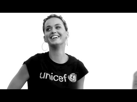 UNICEF Goodwill Ambassador Katy Perry -